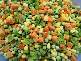 China IQF Individually Quick Frozen Mixed Vegetables OEM Service Available factory