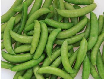 China Green IQF Frozen Vegetables / Fresh Sugar Snap Peas With Delicious Taste factory