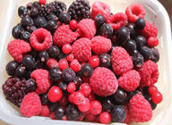 High Grade IQF Frozen Fruit , Individually Fresh Frozen Mixed Fresh Berries
