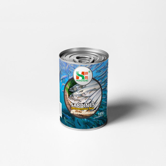 Tomato Sauce Flavor Canned Sardines Fish Products With Normal Can Lid
