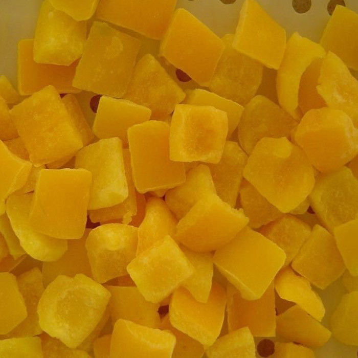 Premium IQF Frozen Food , Fresh Individually Quick Freezing Yellow Bell Pepper