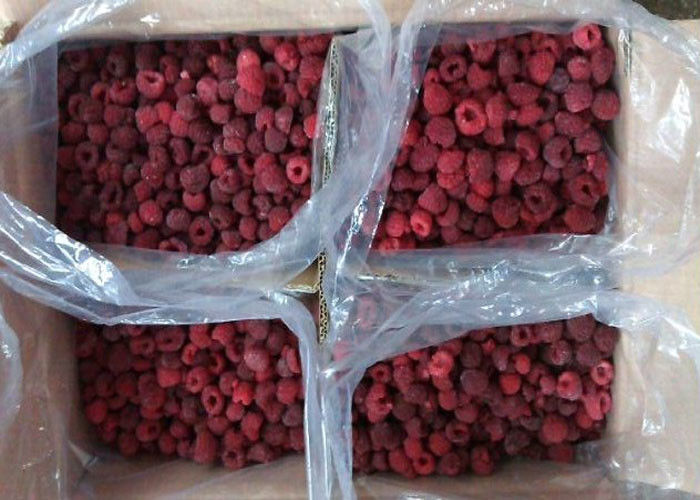 100% Natural Berries Crop IQF Frozen Raspberry 24 Hours Services supplier