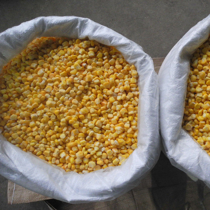 FDA Certified IQF Frozen Vegetables/ Frozen Whole Kernel Sweet Corn For Supermarkets